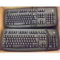 Job Lot 10x Logitech Deluxe 250 Y-SAP76 820-001027 PS2 Keyboards