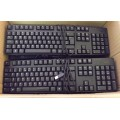 Job Lot 10x Dell Black USB Keyboards