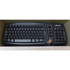 Job Lot 19x Microsoft Basic 1.0A P/N X800469 PS2 Keyboards