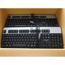 Job Lot 27x Hewlett Packard KB-0316 PS2 Keyboards