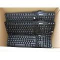 Job Lot 7x Dell Black USB Keyboards 5x RT7D50 2x SK-8115