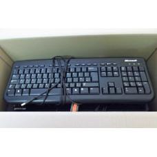 Job Lot 5x Microsoft Wired Keyboard 400 USB Keyboards