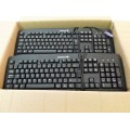 Job Lot 5x Cherry KB-0556 J82-16000LPNGB-2V PS2 Keyboards