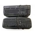 Job Lot 9x Logitech Internet 350, Y-SU61 Keyboards