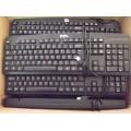 Job Lot 12x RM Accuratus KYBAC201U-BKRM USB Keyboards