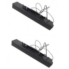 Pair Of Dell AX510 0C729C Multimedia Soundbar Monitor Speakers