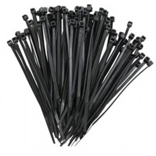 100x Cableties 100mm x 2.5mm Black